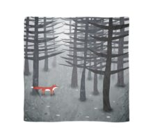 The Fox and the Forest Scarf
