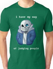 Sans Judgemental Unisex T-Shirt