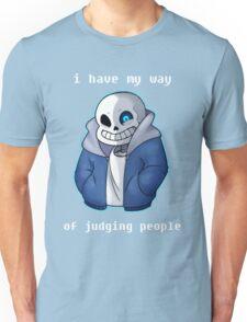 Sans Judgmental Unisex T-Shirt