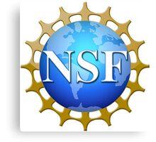 National Science Foundation Logo Canvas Print