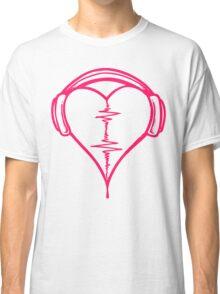 Heart Beat Music Spectrum Classic T-Shirt