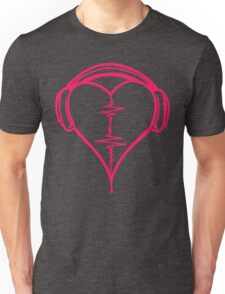 Heart Beat Music Spectrum Unisex T-Shirt