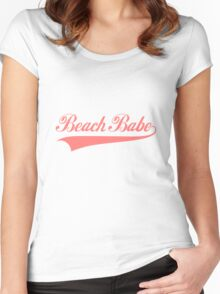 Beach Babe Women's Fitted Scoop T-Shirt