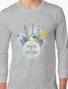 Travel & Explore Long Sleeve T-Shirt
