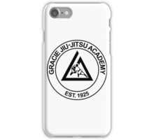 GRACIE BRAZILIAN JIU-JITSU iPhone Case/Skin