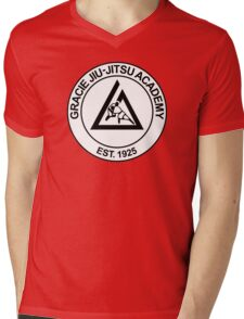 GRACIE BRAZILIAN JIU-JITSU Mens V-Neck T-Shirt