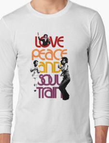 Love, Peace And Soul Train Long Sleeve T-Shirt