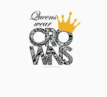 Queens Wear Crowns Womens Fitted T-Shirt
