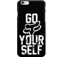 Go Fox  iPhone Case/Skin
