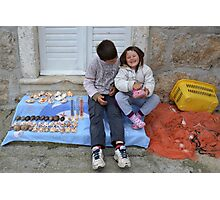 Young merchandisers Photographic Print