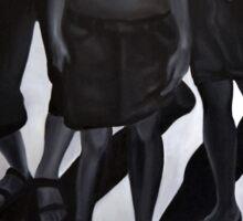 Shadow vs reality, 2012, 120-80cm, oil on canvas Sticker
