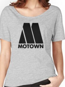 MOTOWN DISCO RECORDS Women's Relaxed Fit T-Shirt