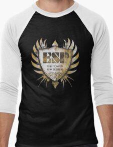 ESP Guitar Craft Academy Grunge Badge Men's Baseball ¾ T-Shirt