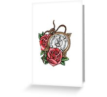 Compass Roses Greeting Card