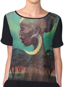 Africa Son Chiffon Top