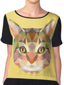 Animals Cat Gift Chiffon Top