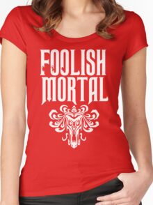 Foolish Mortal Tribal Women's Fitted Scoop T-Shirt