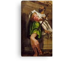 Paolo Caliari Veronese - Allegory of Navigation with a Cross-Staff Averroes Canvas Print