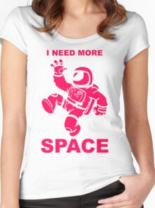 Astronaut - I Need More Space  Women's Fitted Scoop T-Shirt