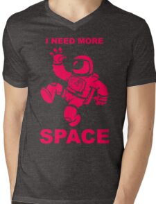 Astronaut - I Need More Space  Mens V-Neck T-Shirt