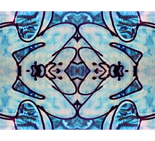 Abstract Tribal Design Photographic Print