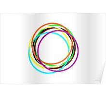 Amazing Color Circles Poster