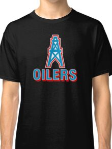 HOUSTON OILERS FOOTBALL RETRO (1) Classic T-Shirt