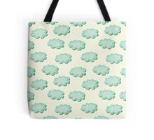 Clouds shabby seamless pattern Tote Bag