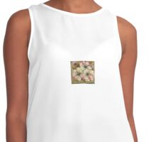 Flowers For You Contrast Tank