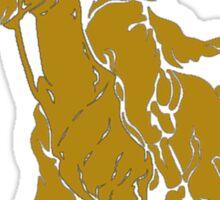 grim reaper polo back Sticker