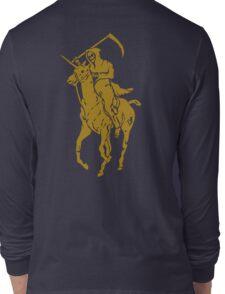 grim reaper polo back Long Sleeve T-Shirt