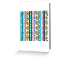 Hand drawn decorative pattern Greeting Card