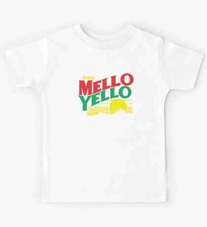 MELLO YELLO - DAYS OF THUNDER - TOM CRUISE Kids Tee