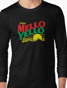 MELLO YELLO - DAYS OF THUNDER - TOM CRUISE Long Sleeve T-Shirt