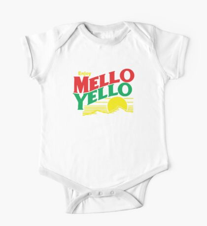 MELLO YELLO - DAYS OF THUNDER - TOM CRUISE One Piece - Short Sleeve