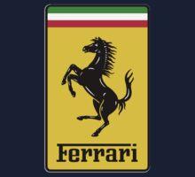 Ferrari Logo One Piece - Short Sleeve