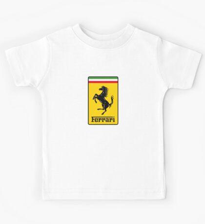 Ferrari Logo Kids Tee