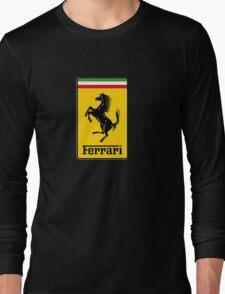 Ferrari Logo Long Sleeve T-Shirt