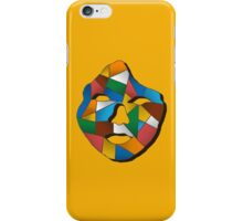 Geometric face print iPhone Case/Skin