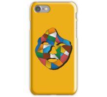 Geometric face print iPhone Case/Skin