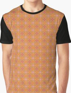 Pink and Orange Blossoms Graphic T-Shirt