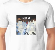 Kid A Pixel Art Unisex T-Shirt