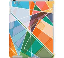 Retro styled abstract iPad Case/Skin