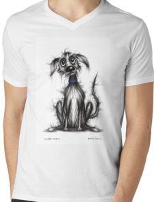 Grubby George Mens V-Neck T-Shirt