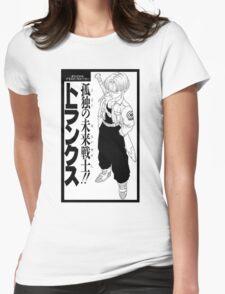 Trunks Dragon Ball - mirai trunks  Womens Fitted T-Shirt