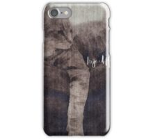 Cat Greyed on a Rainy Day iPhone Case/Skin