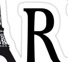 Paris mon amour Sticker