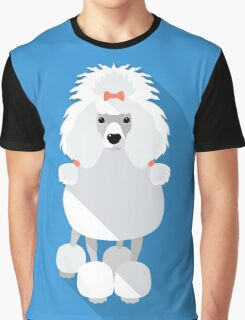 Poodle icon flat design  Graphic T-Shirt