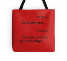 TV shows addicted. Tote Bag