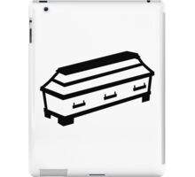 Coffin iPad Case/Skin